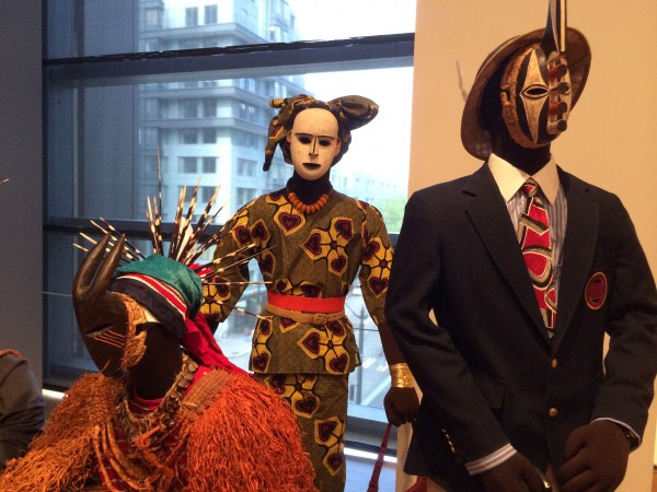 Mask Family at Seattle Art Museum. photo: D. Banks
