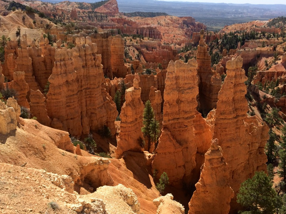 HooDoos at Bryce Point.