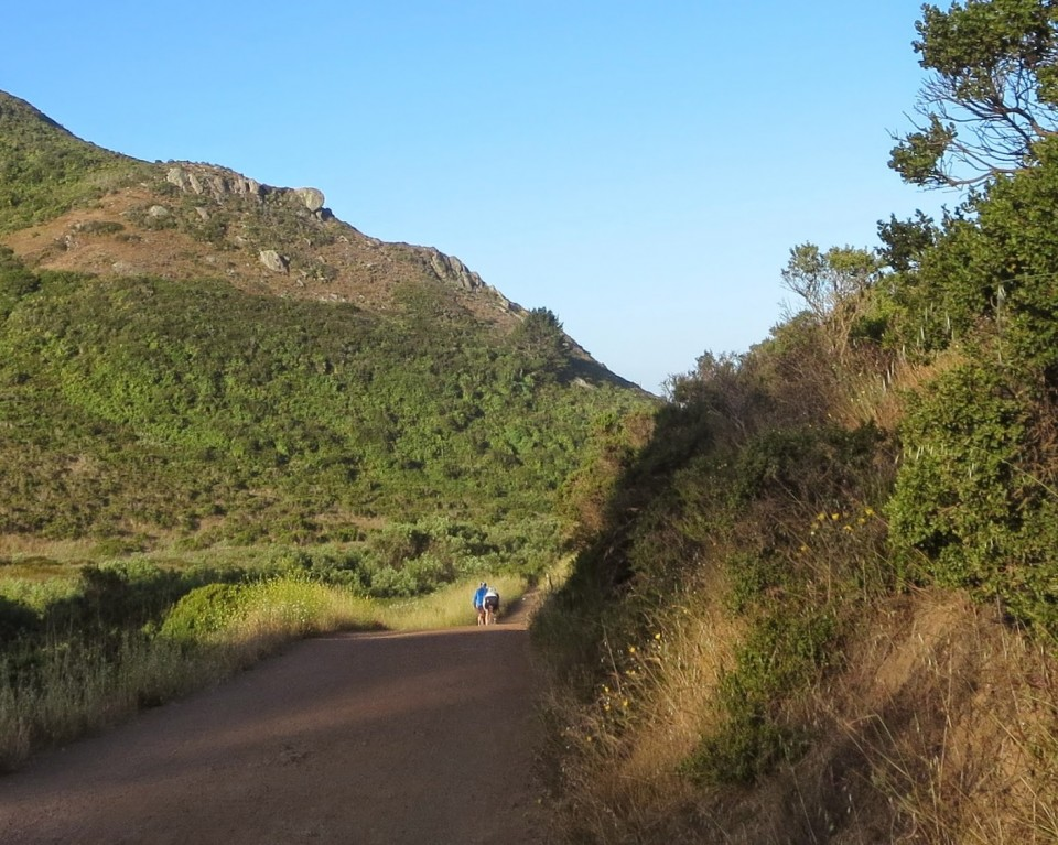 On the Rodeo Valley Trail. Photo: B. Chun