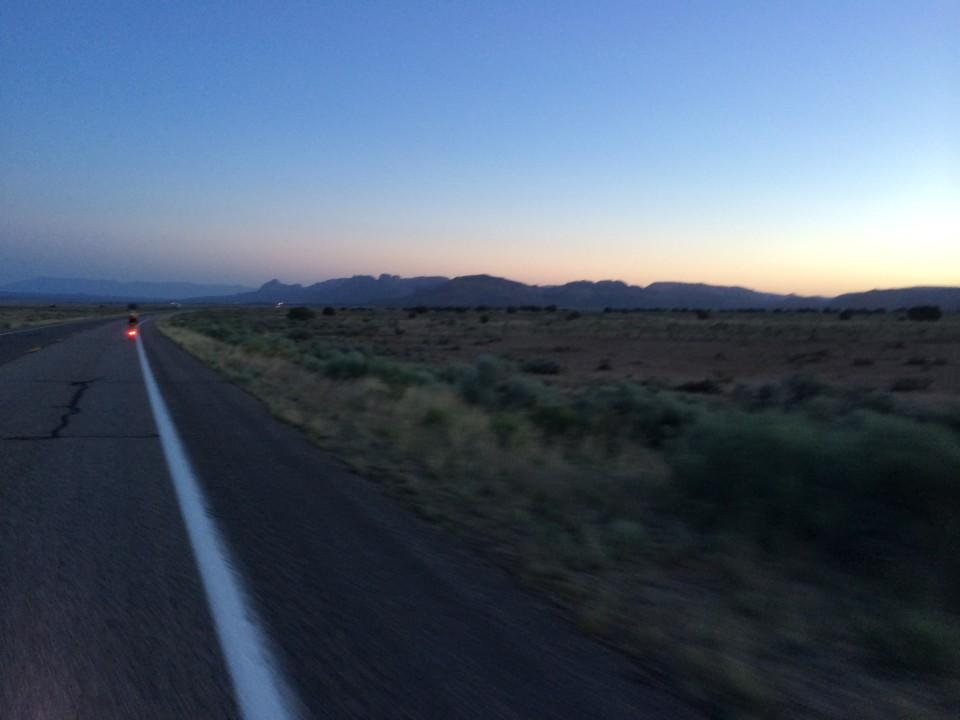 Dawn on day one.