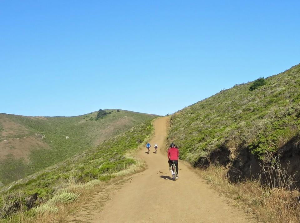 Up the Coastal Trail. Photo: B. Chun