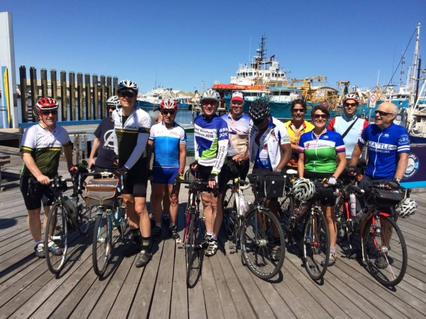 The gang in Freo