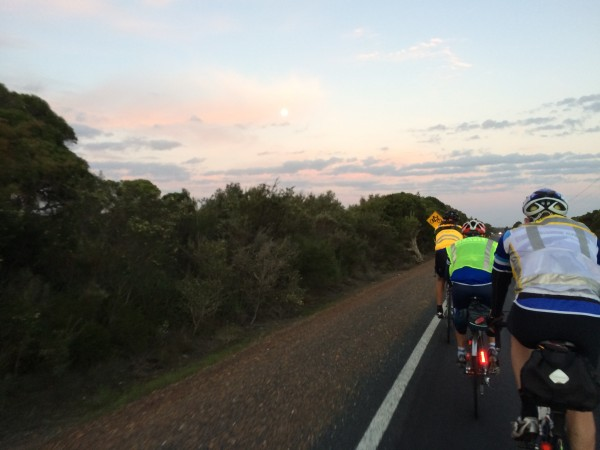 Full moon over Rando's. photo: Banks