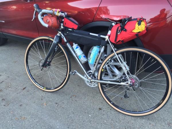 The rig ready to go to Ukiah.