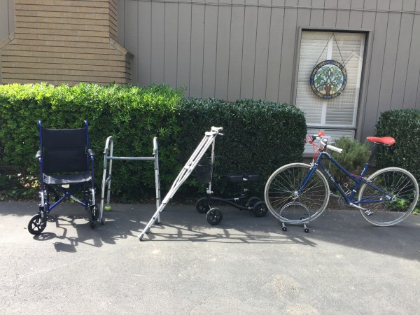 The evolution from chair to bicycle...