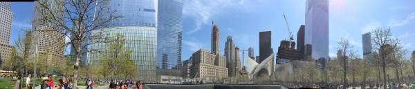 At Ground Zero, NYC